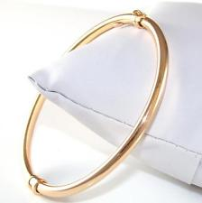 Rose Gold Plain Bangle