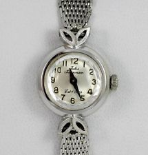 Jules Jurgensen White Gold Watch