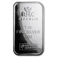 Republic Silver Bars